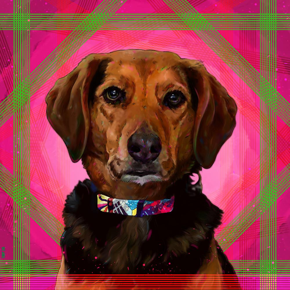 7 14 20 digital drawing commission laura pieczynski dog portrait jo jo boogie woogie bugle beagle jpeg version ujmqzy
