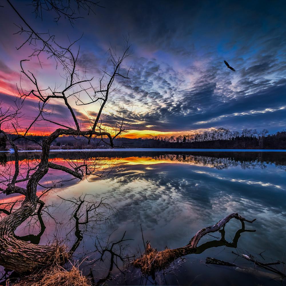 Dusk over lake redman  11937411 j2gr4a