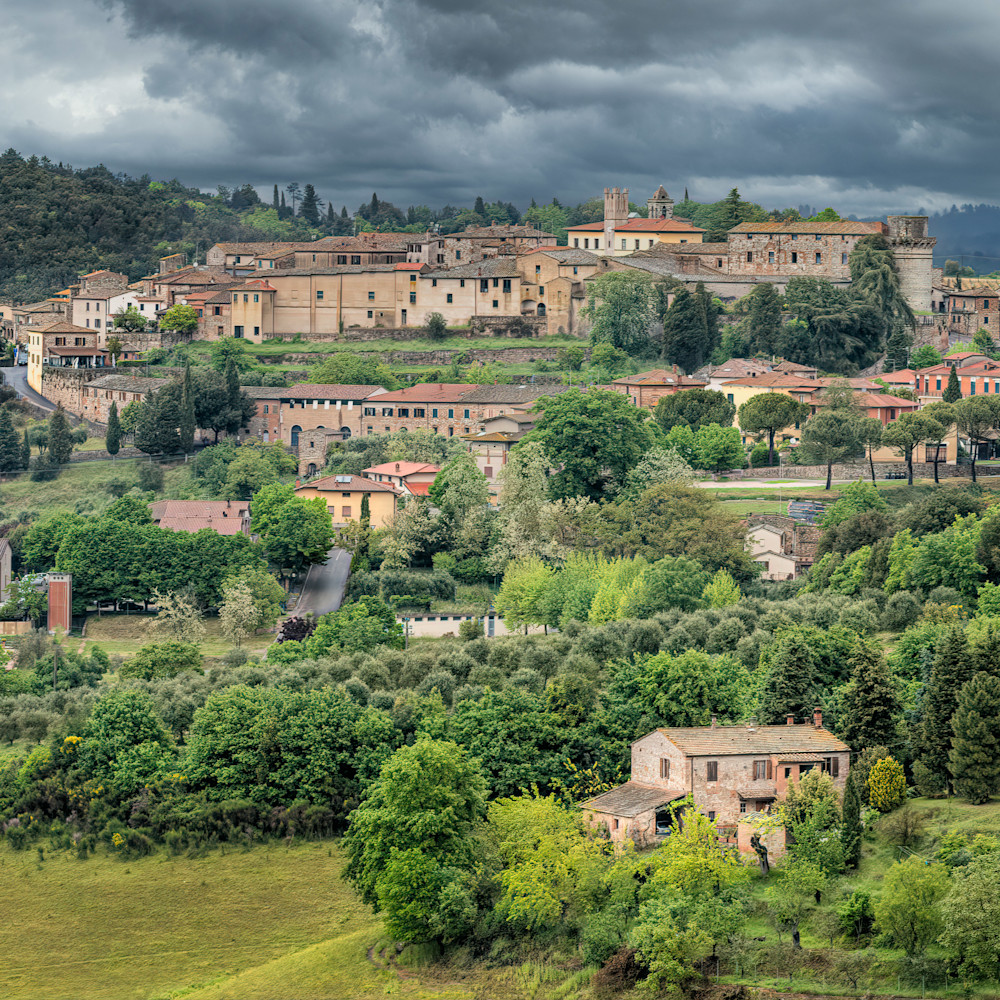 Spring storm in tuscany h44xtn