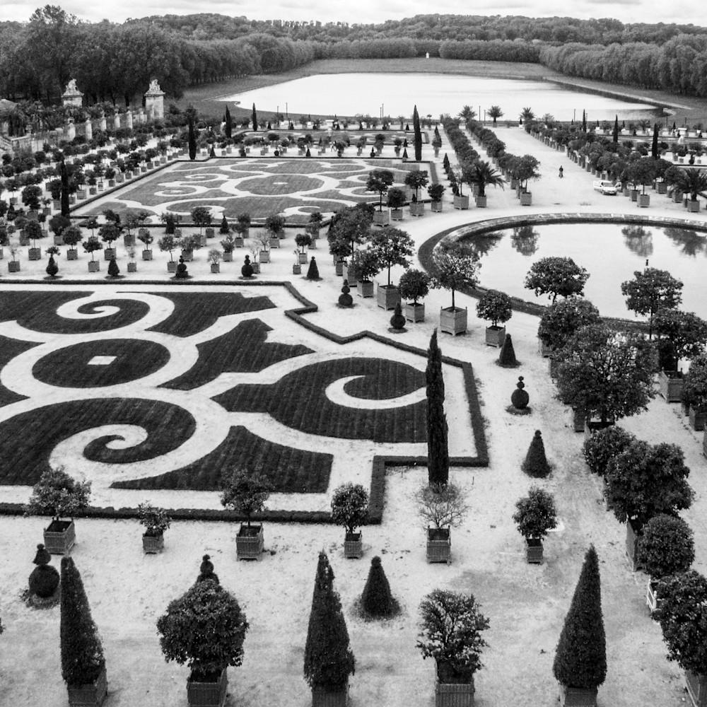 40x30 versailles gardens fountains b w  jfhkru