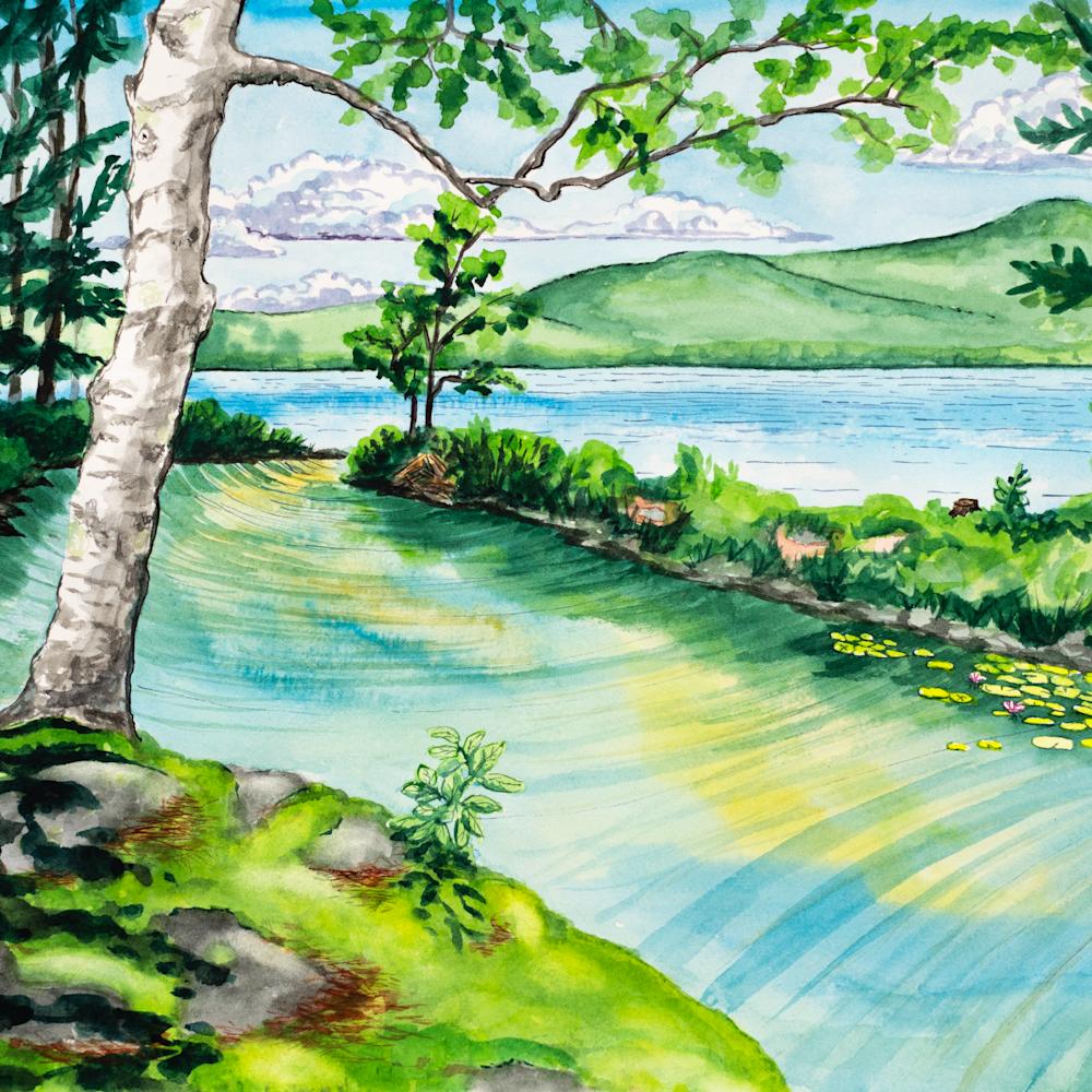Lagoon clearwater maine lake x85hme