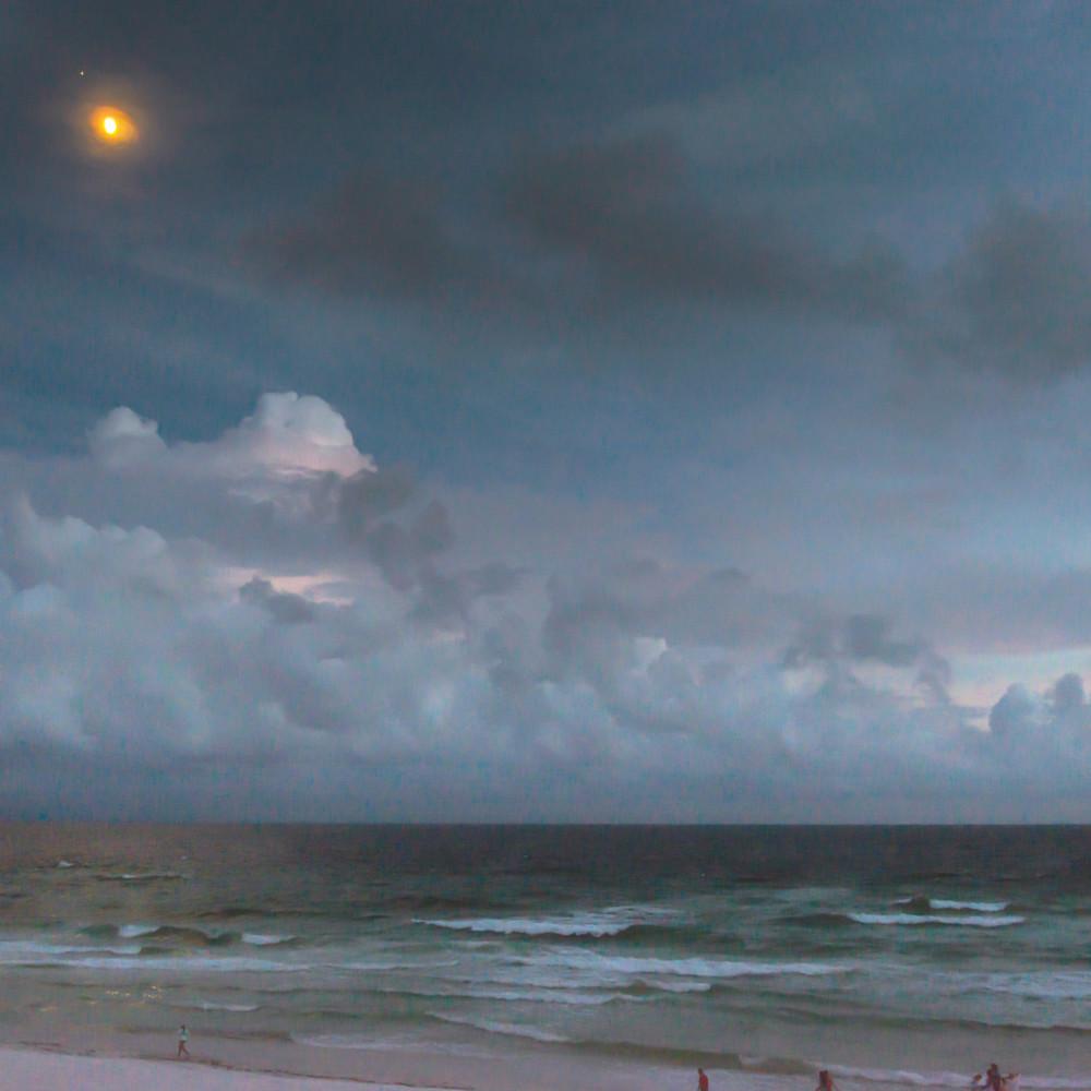 Moonrise over the emerald coast tlevjx