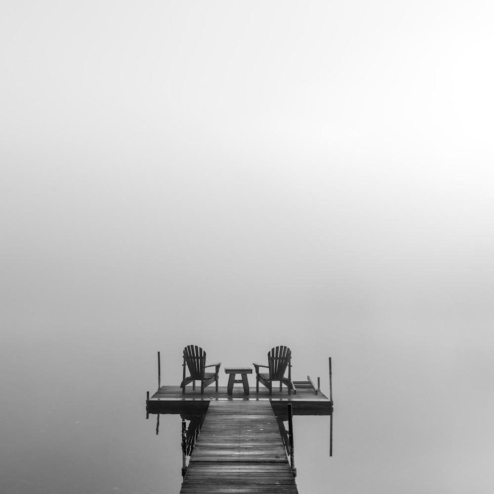 Adirondack dock bw cykuql