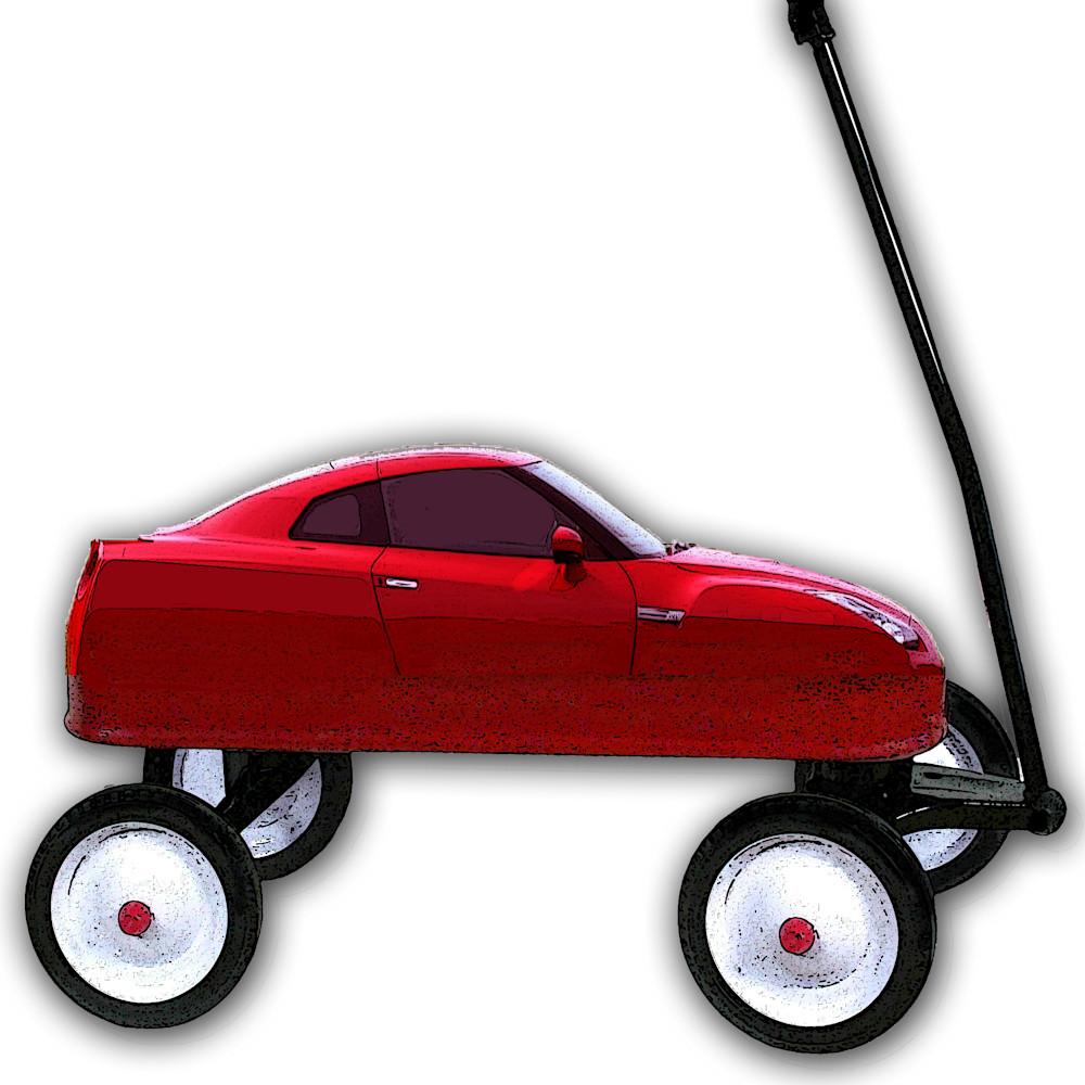 Red wagon as a sports car final hi res trkhx6