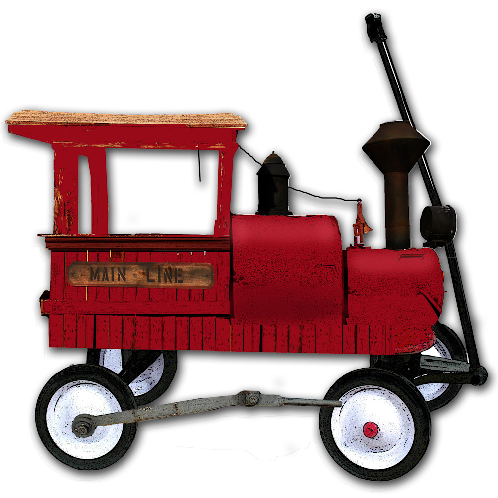 Red wagon as a fire enging asf xndln8
