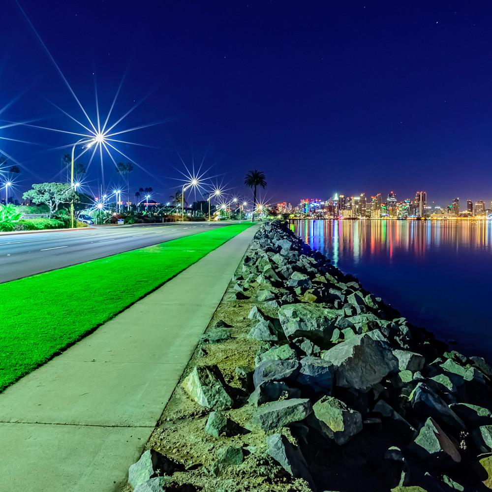 Harbor island starry night bjgxut