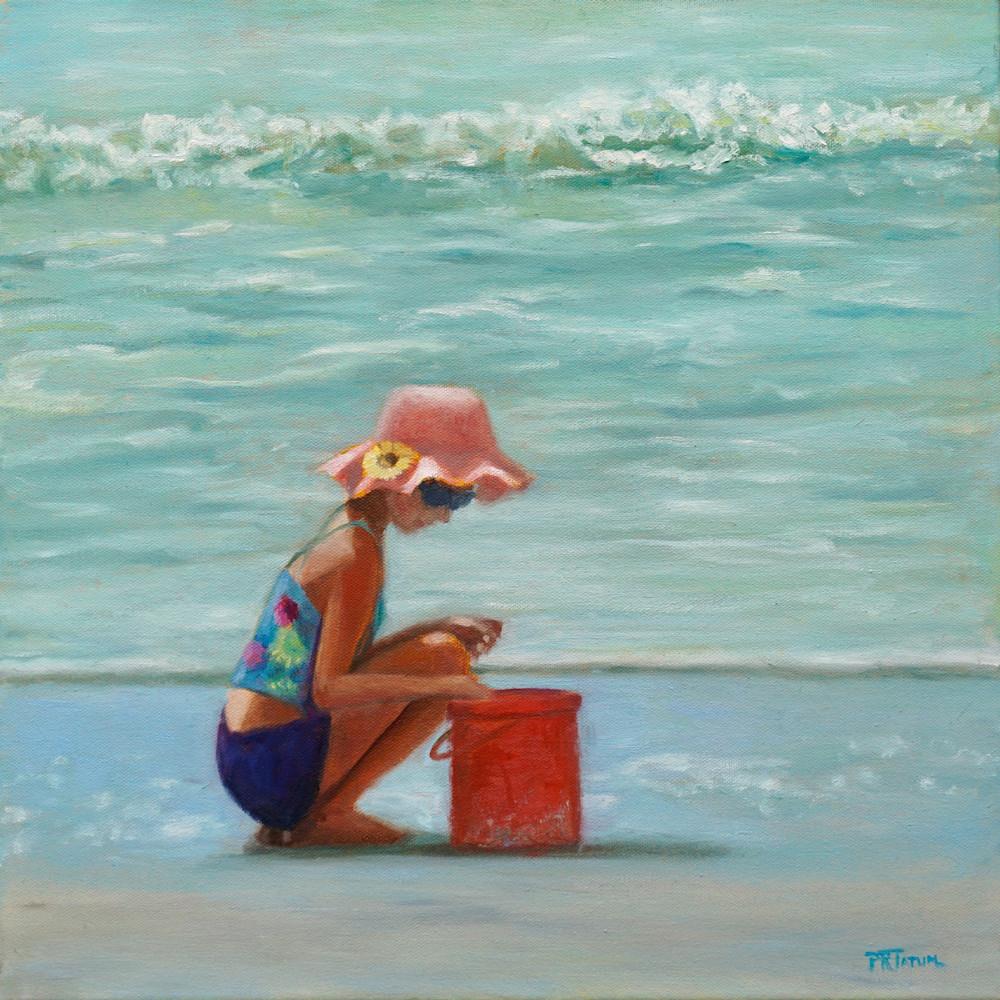 Little girl at the beach 722 ljw61d