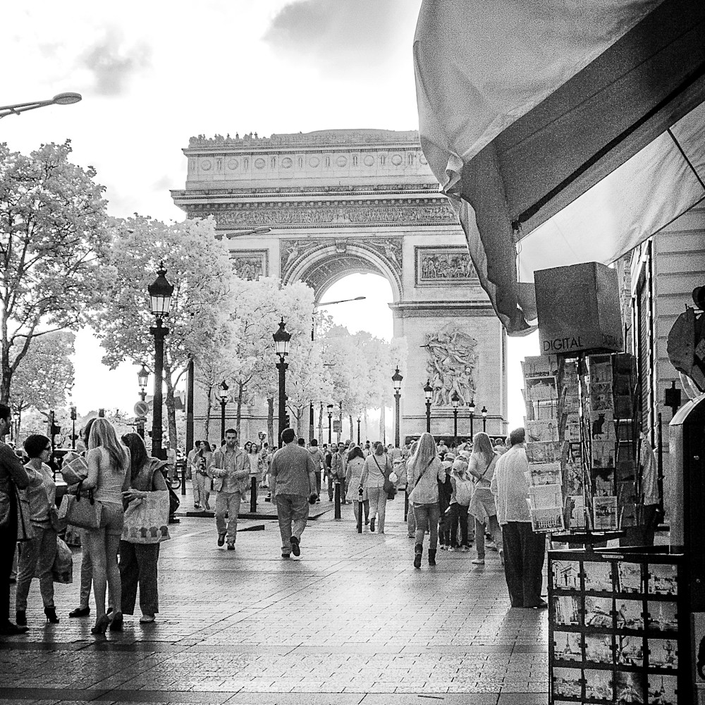 Arc de triomphe 11x14 gbdzro