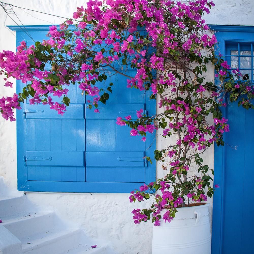 Flower pot greece dy06qn