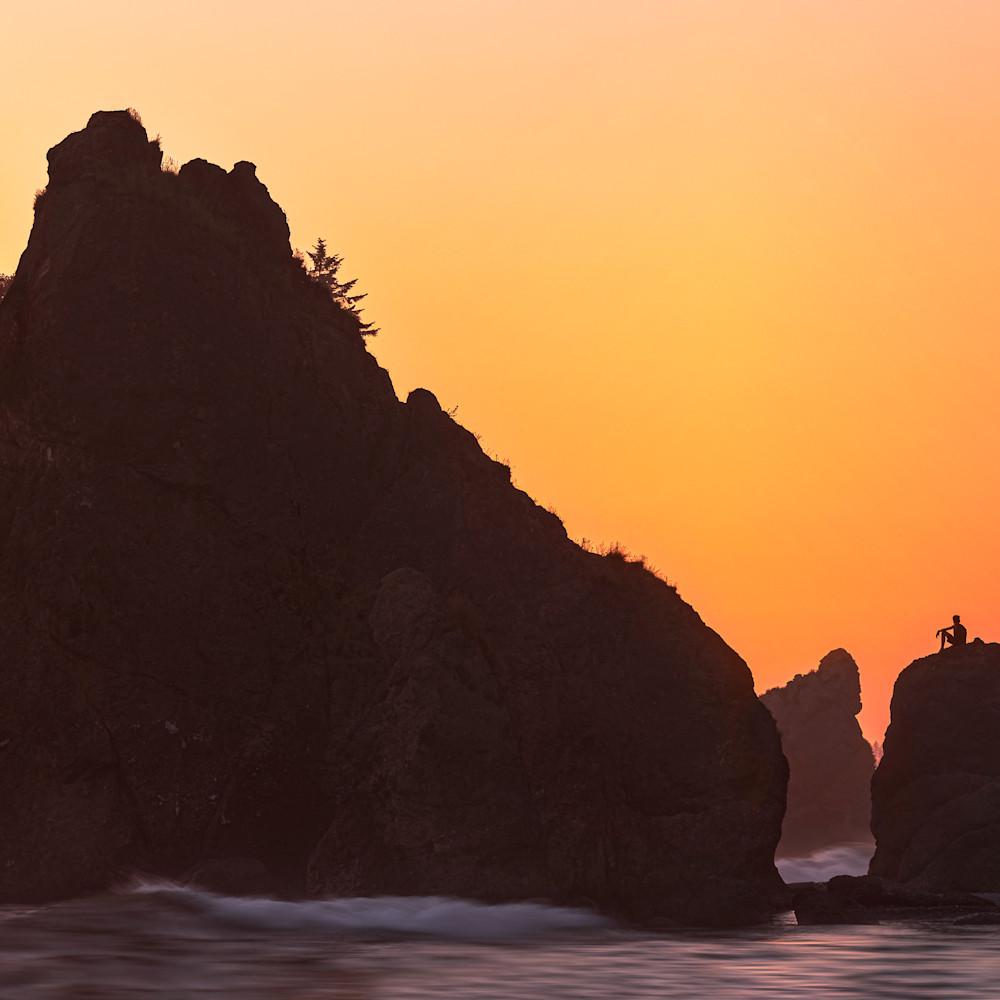 Sunset thinker  dwnrfg