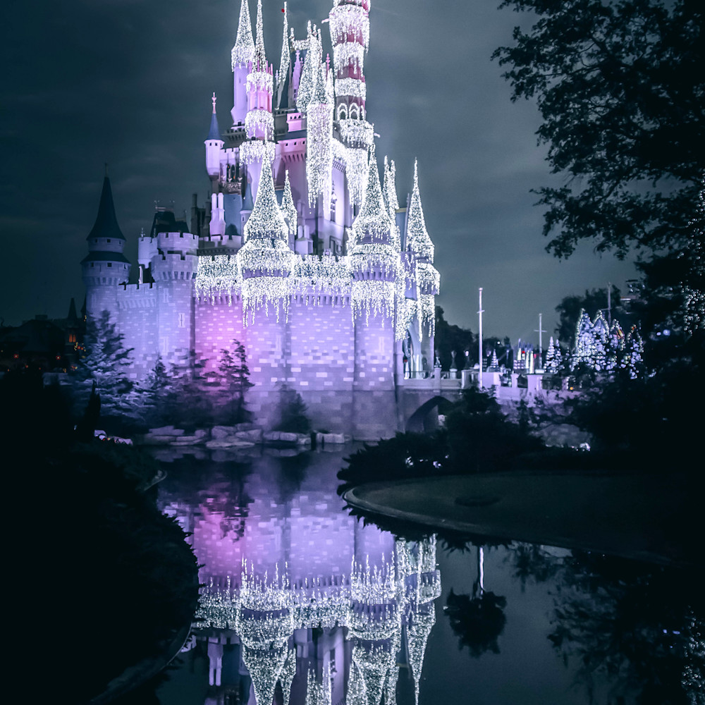 Cinderella castle dream lights 3 auzmsq