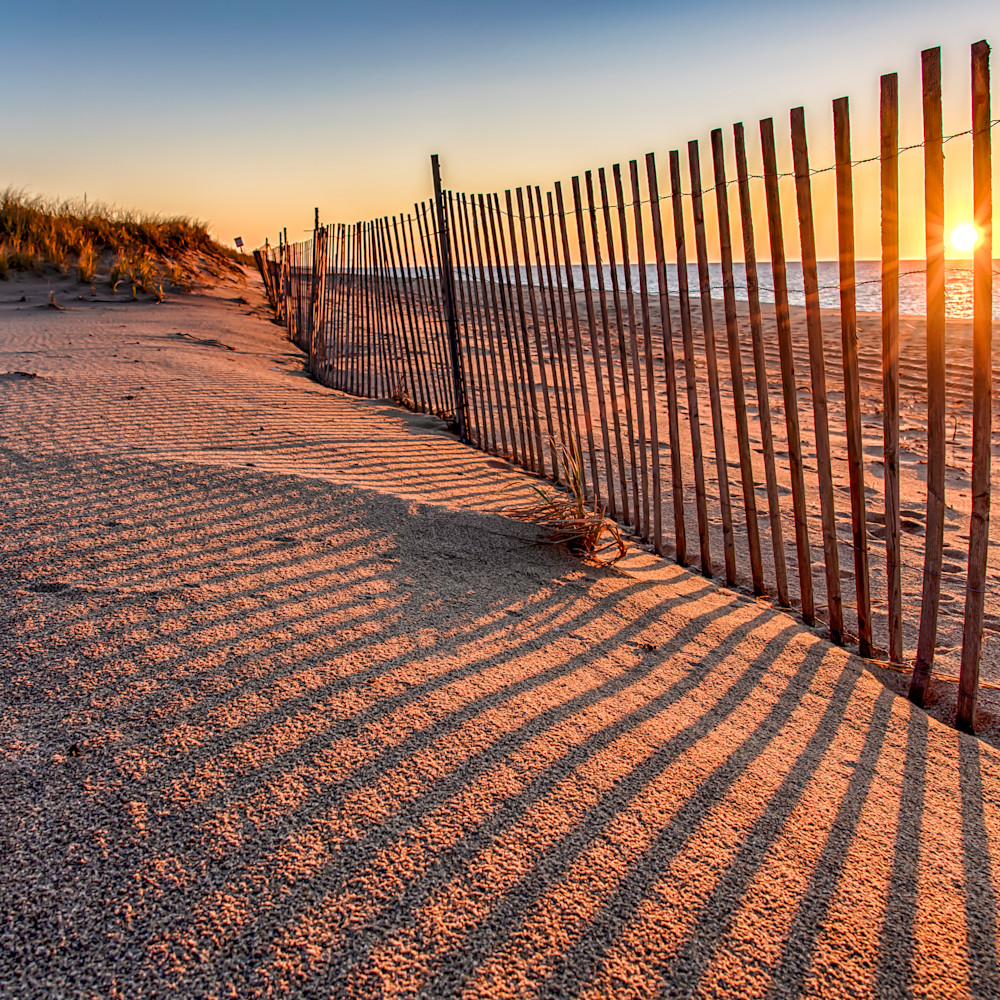 Long point sunrise snow fence jf7csw