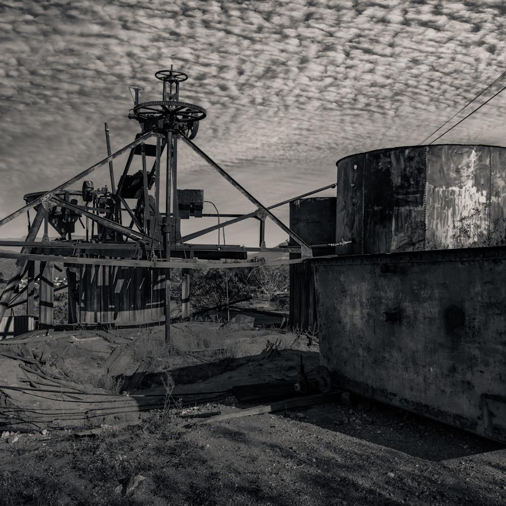 Abandoned mining equipment randsburg r4frsl