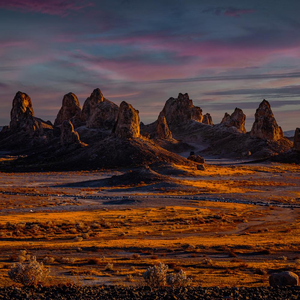 Pinnacles golden sunset jpth3v