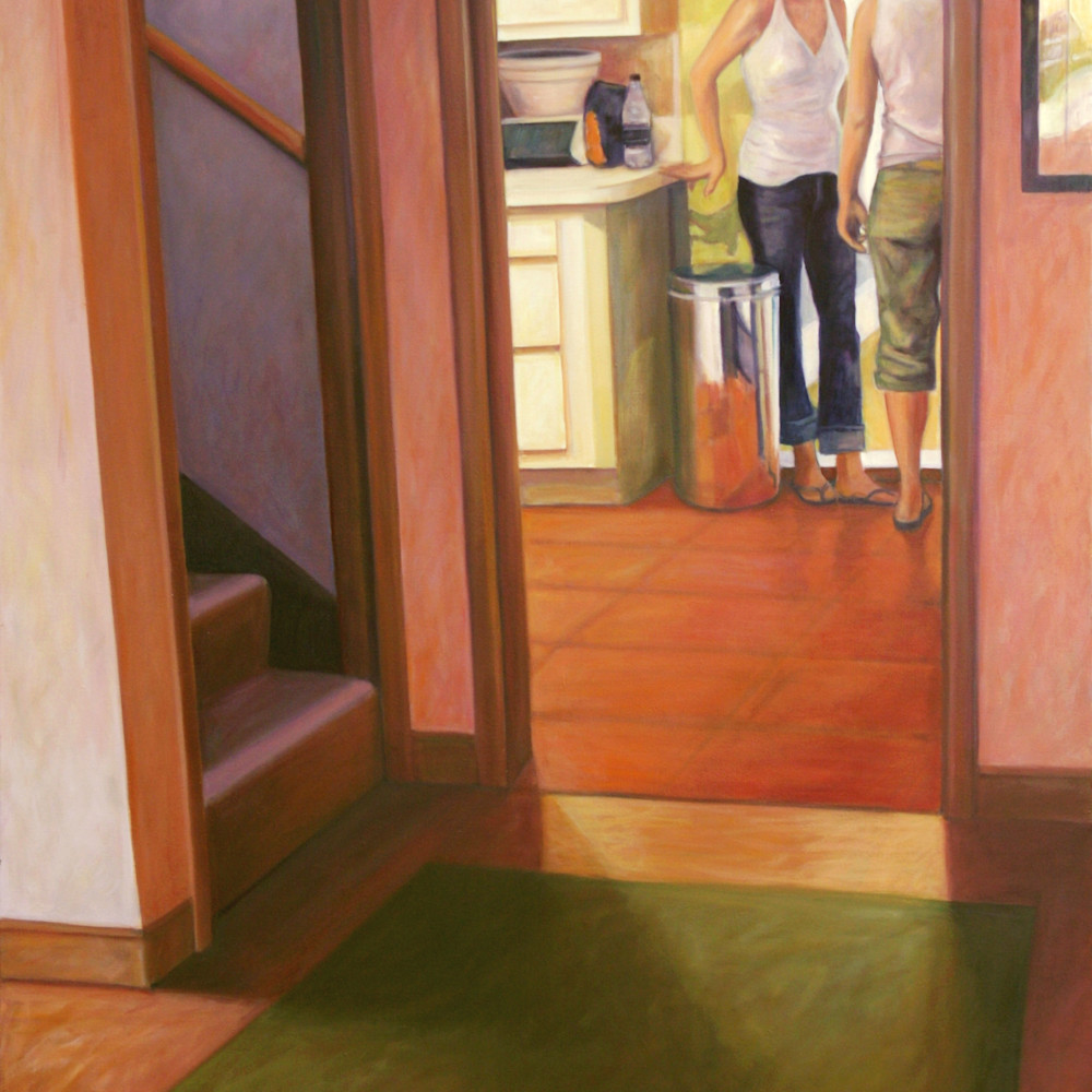 Asf barbara lidfors two young women by the patio door lev9bg