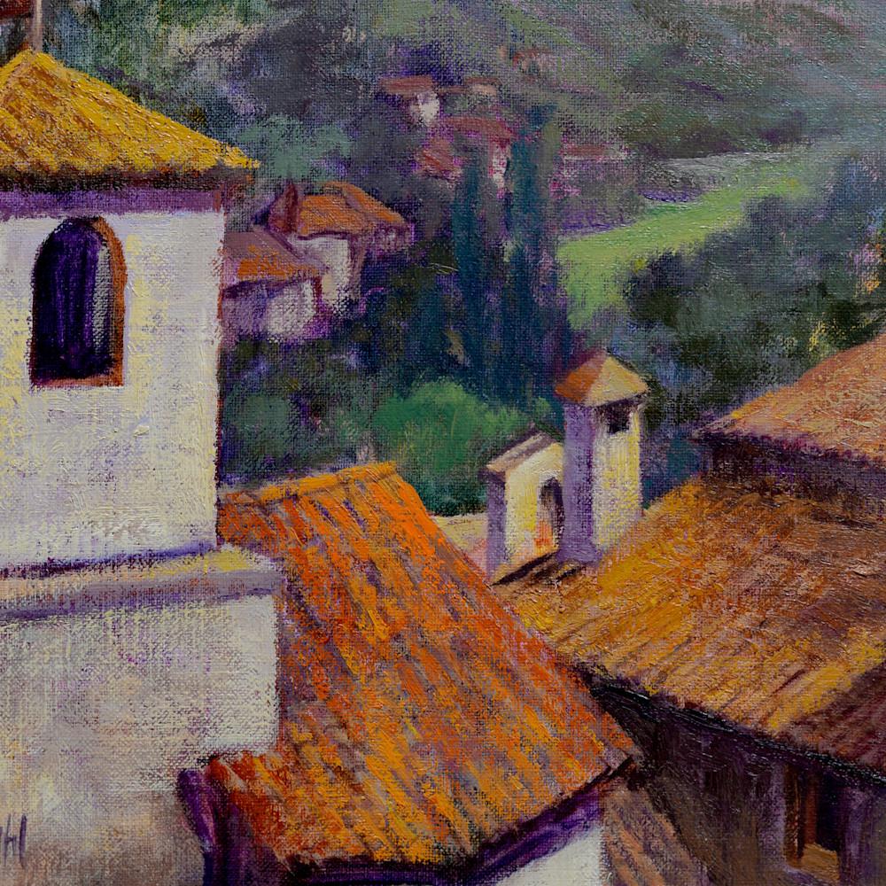Italian hilltown rooftops print d610 6000 uwd3cq