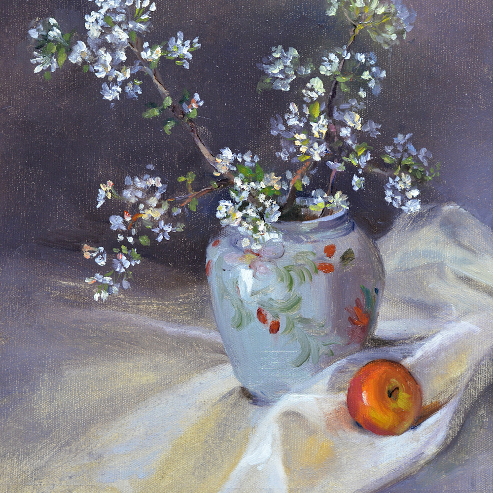 Apple blossoms and apple d610 6000 zpxhgt