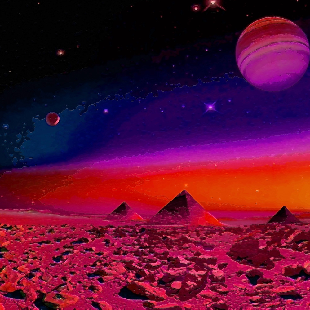 Pyramids on another planet  c2w3ax