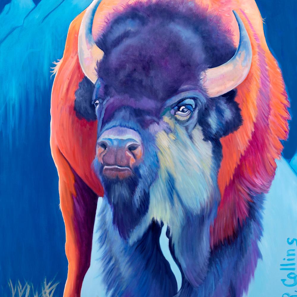 Grand teton bull print histak