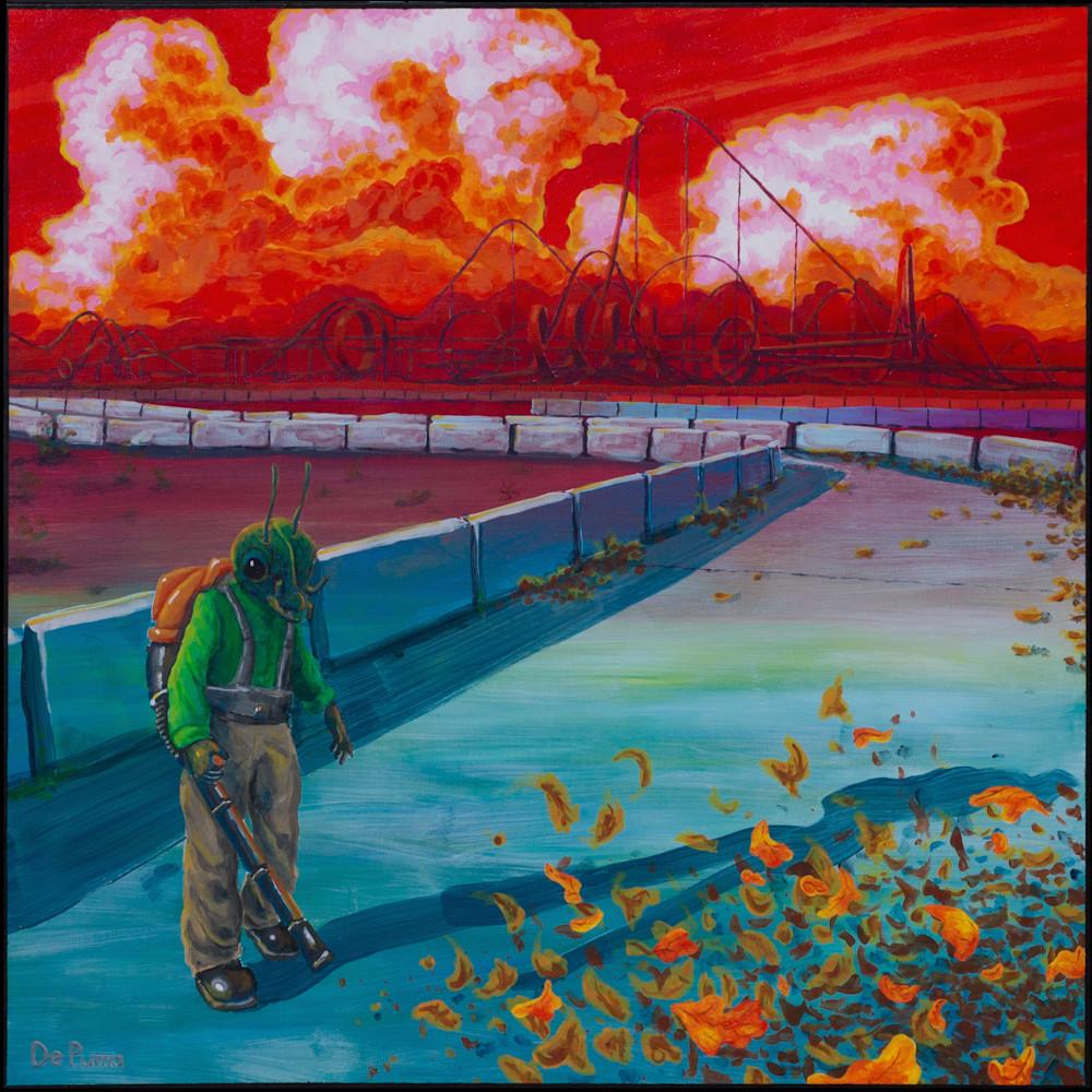 Leafblowerant painting e9lqt4