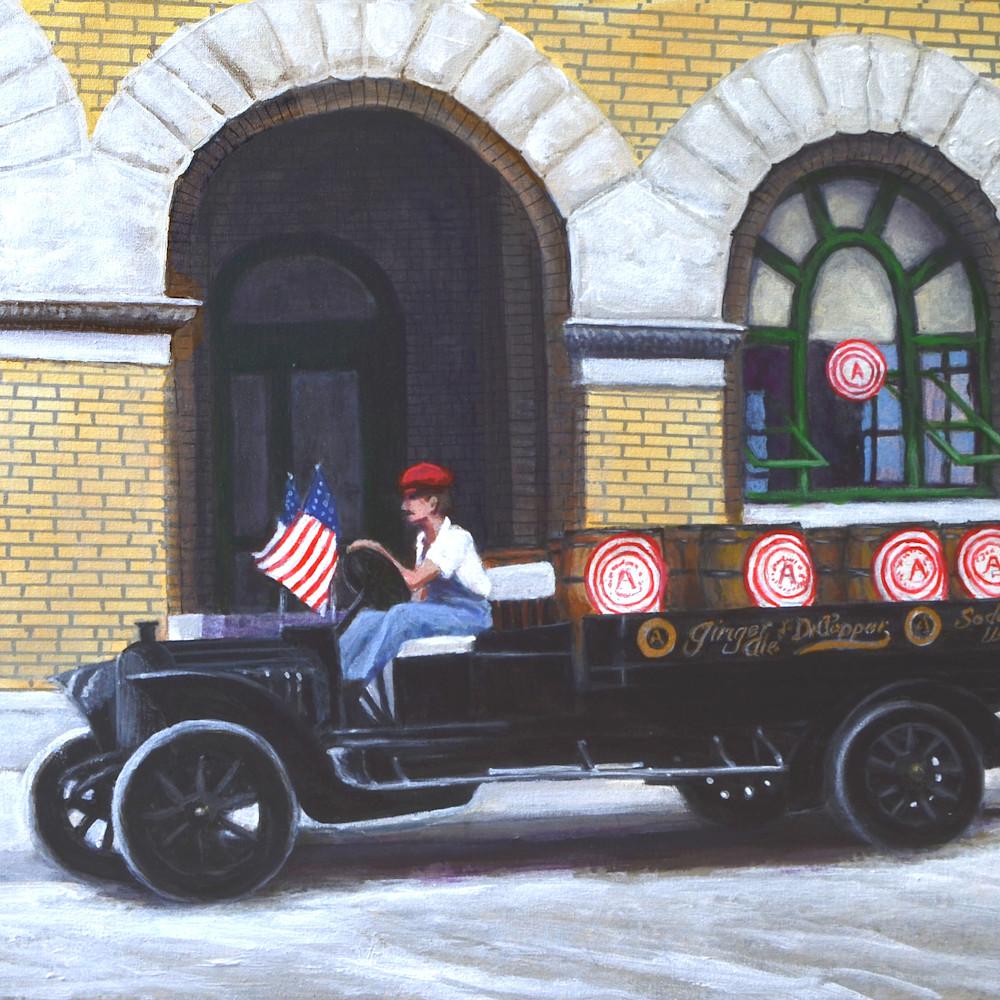 Dr pepper delivery truck 1919 jkyd1u