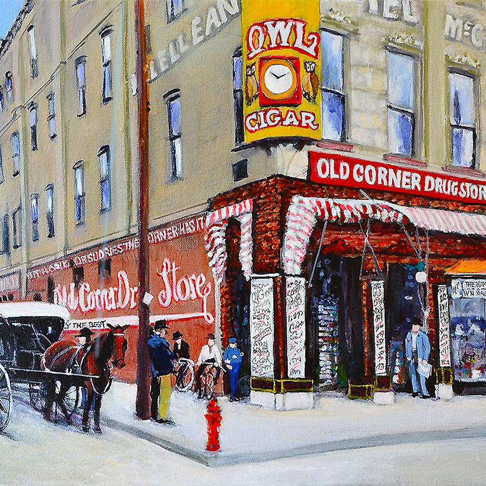 Morrison s old corner drug store rjy3os