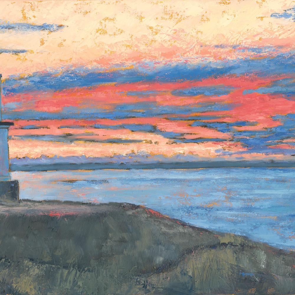 Engle morning sky   cattle point lighthouse 15x24 uii9rf