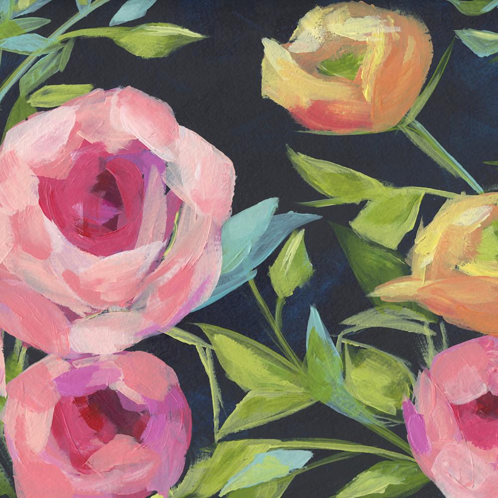 Flowers navy 1  9x12 uz1qrp