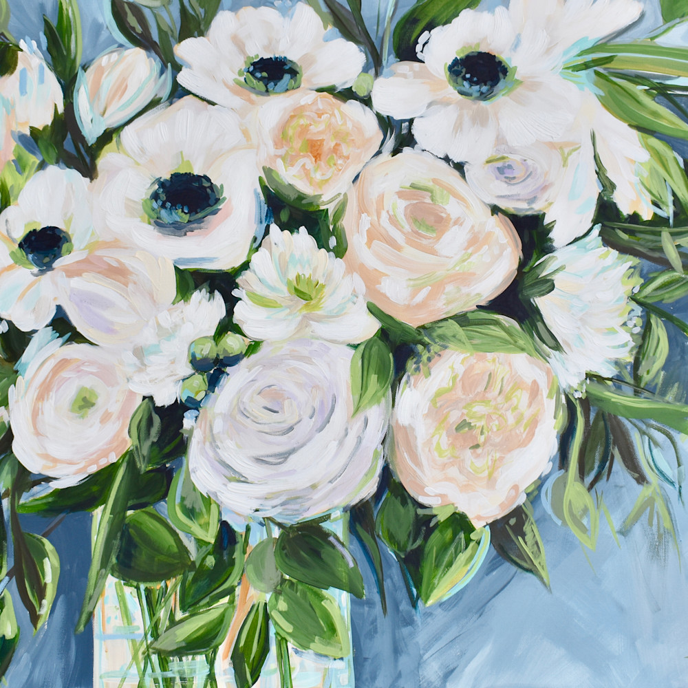 White peonies and poppies floral painting 36 x 24jpg o4duux