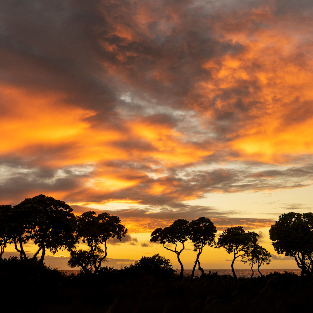 Sunset beyond kohanaiki czcbhx
