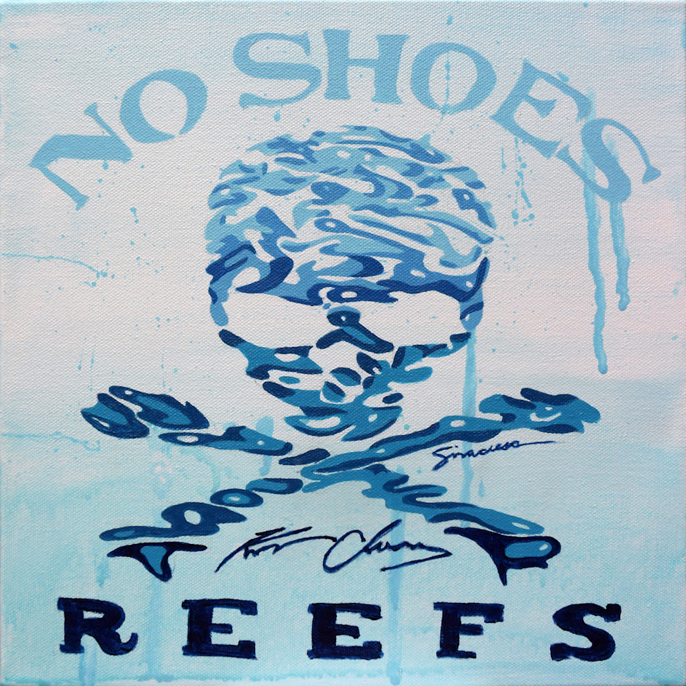 Nsr painted water logo limited edition print i6yi5r