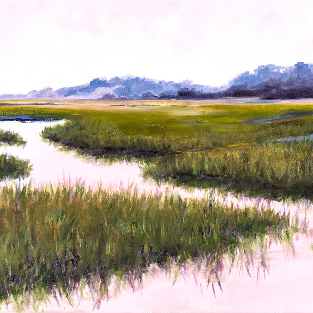 Pink marsh light 24 x 32 dqn0hf