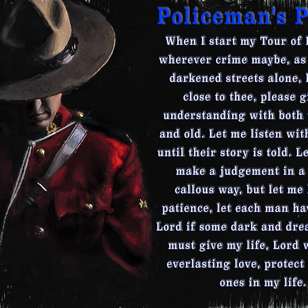 Policeman s prayer s89ovg