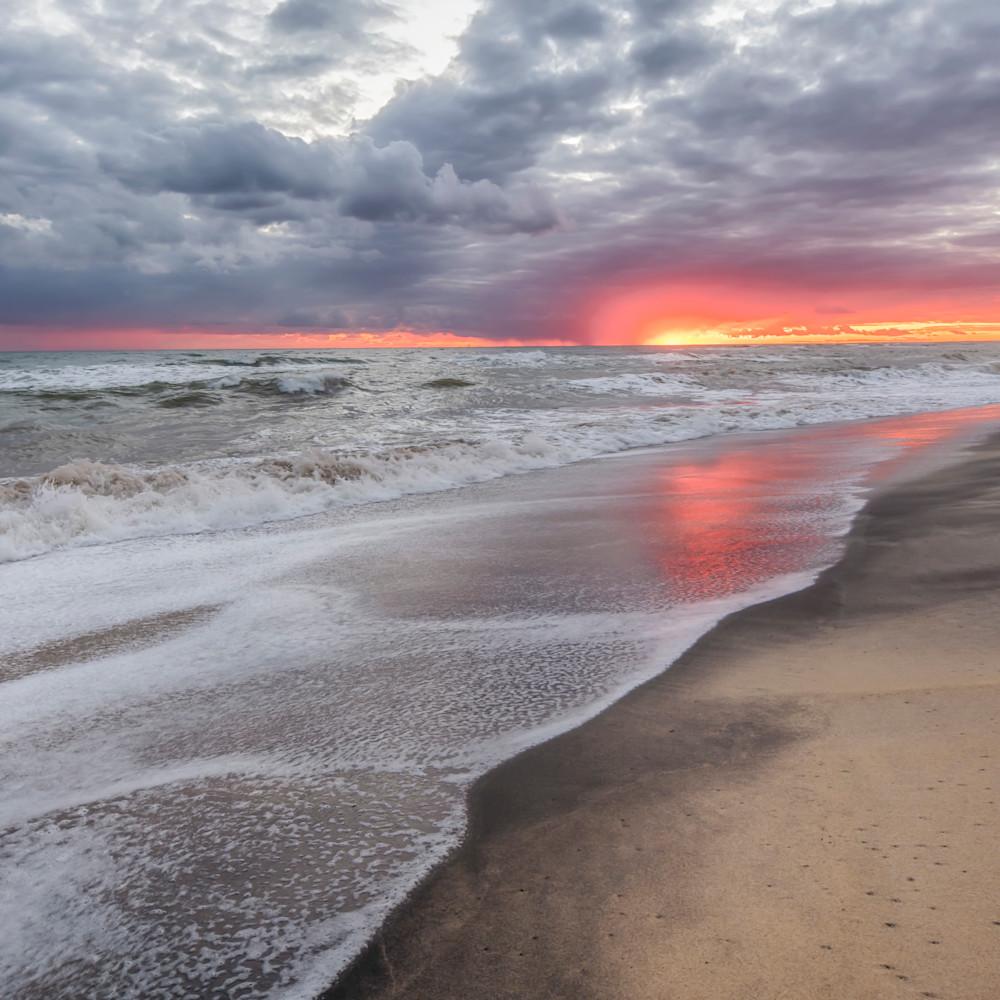 South beach magenta clouds mqoexs