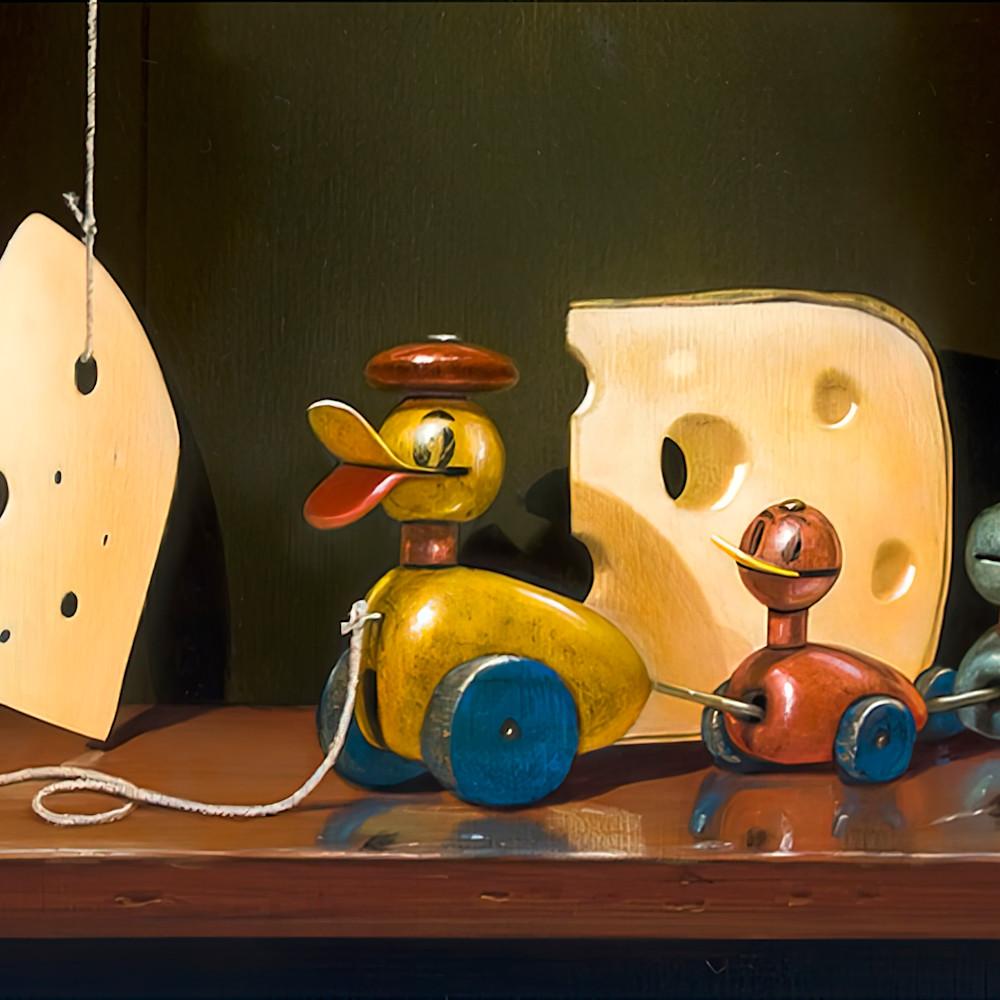 Cheese quackers ducks chalkboard crossing print richard hall mat gigapixel scale 4 00x hafb6s