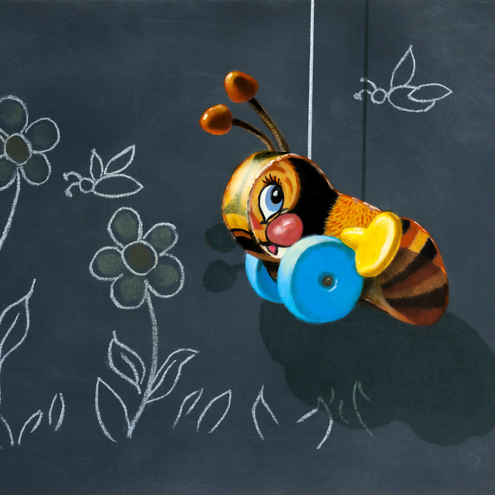 Busy buzzy bee gigapixel scale 2 00x arcf2l