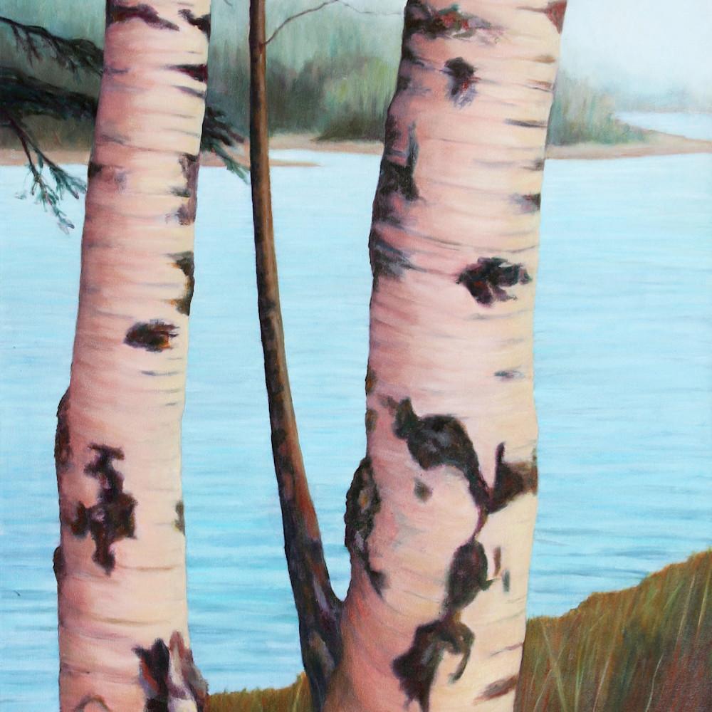 Asf barbara lidfors norwegian birch pair   original painting ps ce.ce jpg zz8dsq