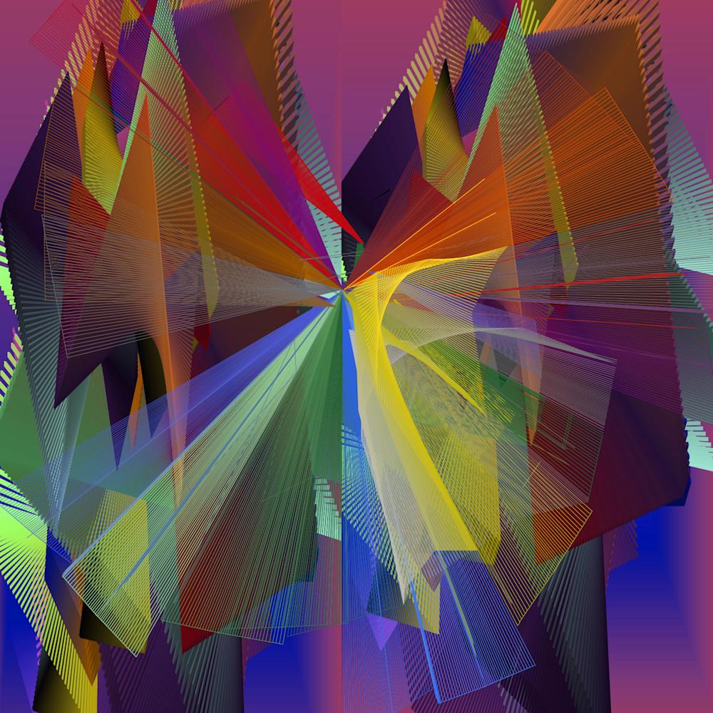 Kaleidoscope nostalgia print qmrisf
