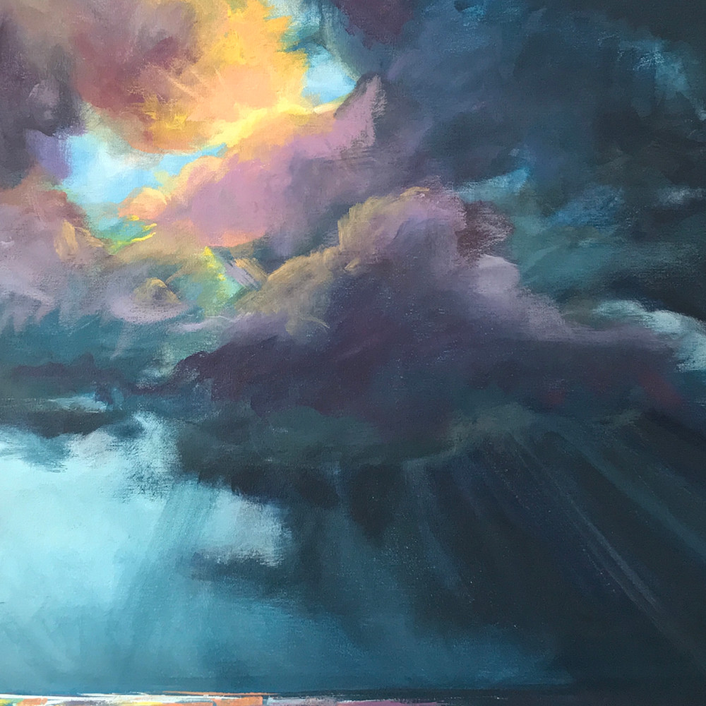 Through the storm 9x12 khtr37