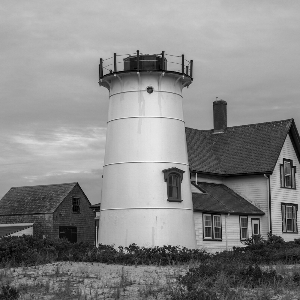Black and white stage harbor light 1 of 1 pmoox9