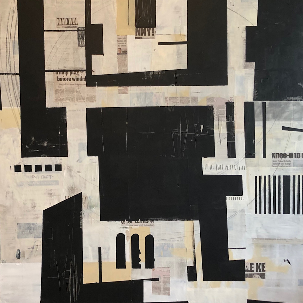 3. tanger nights acrylic and collage 48in x 48in 2019 licgbd