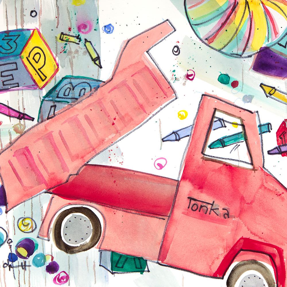 Red tonka truck cqldln