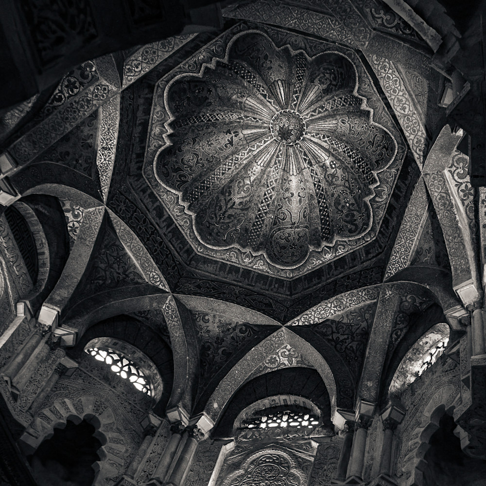 Dome great mosque of cordoba pnskrb