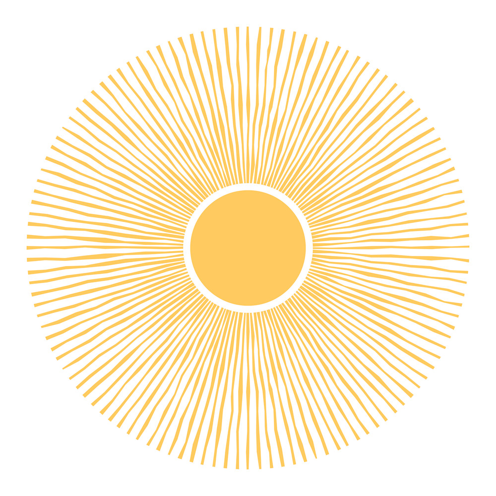 Sun rays ultvoj