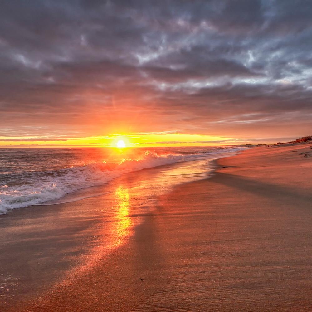 South beach sunset wave shadow yokvnl