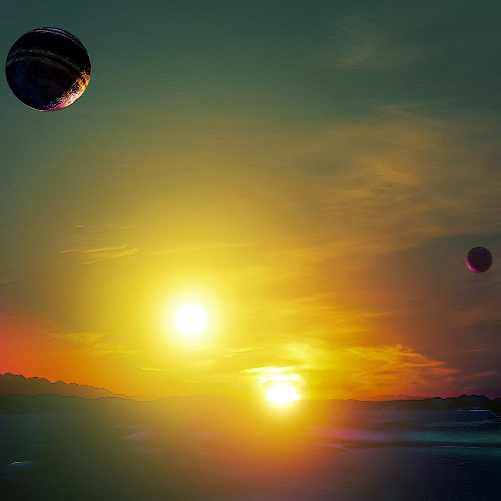 Sunset on earth two ed5b3i