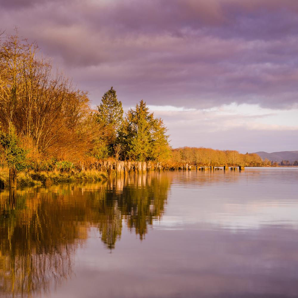 Winter morning willapa river washington 2021 k4nekj