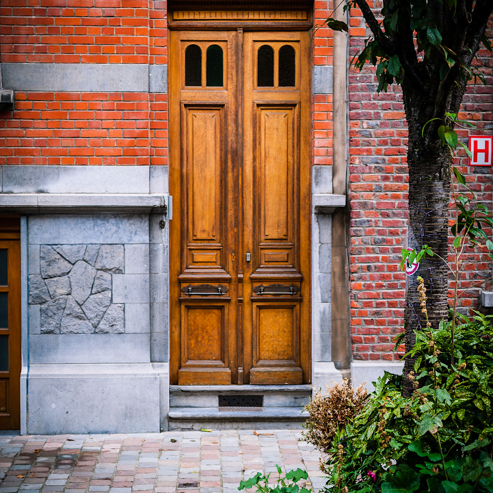 Doors of ixelles 1 brussels belgium 2018 loh76l