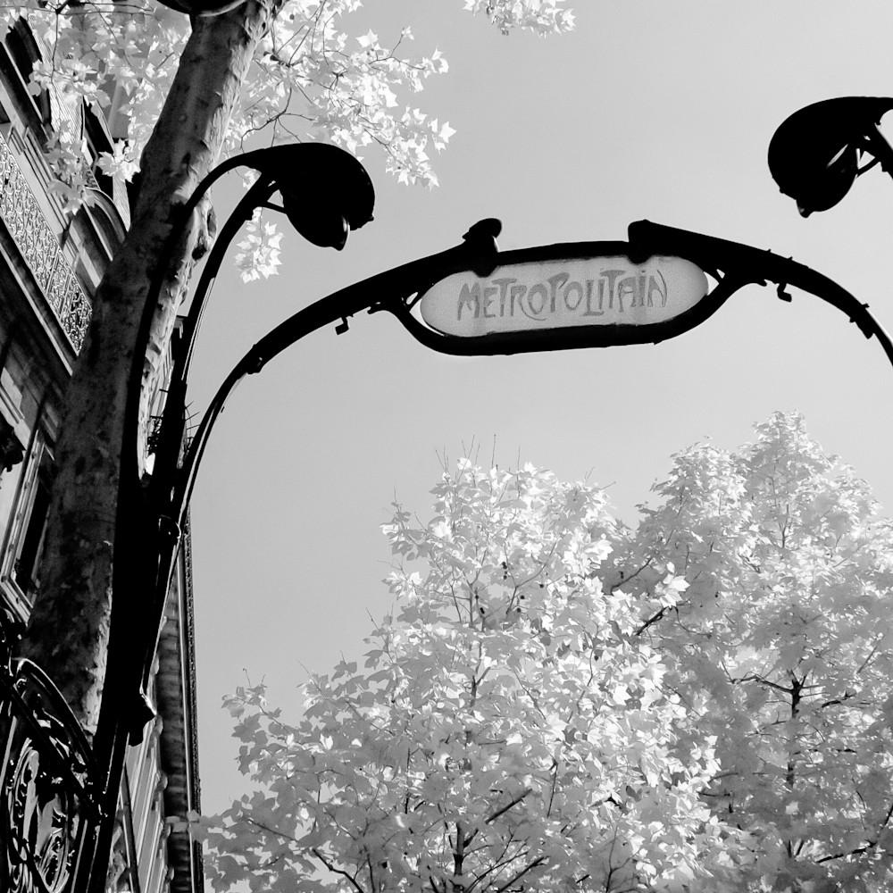 Paris metro saint michel 11x14 ku0nwl