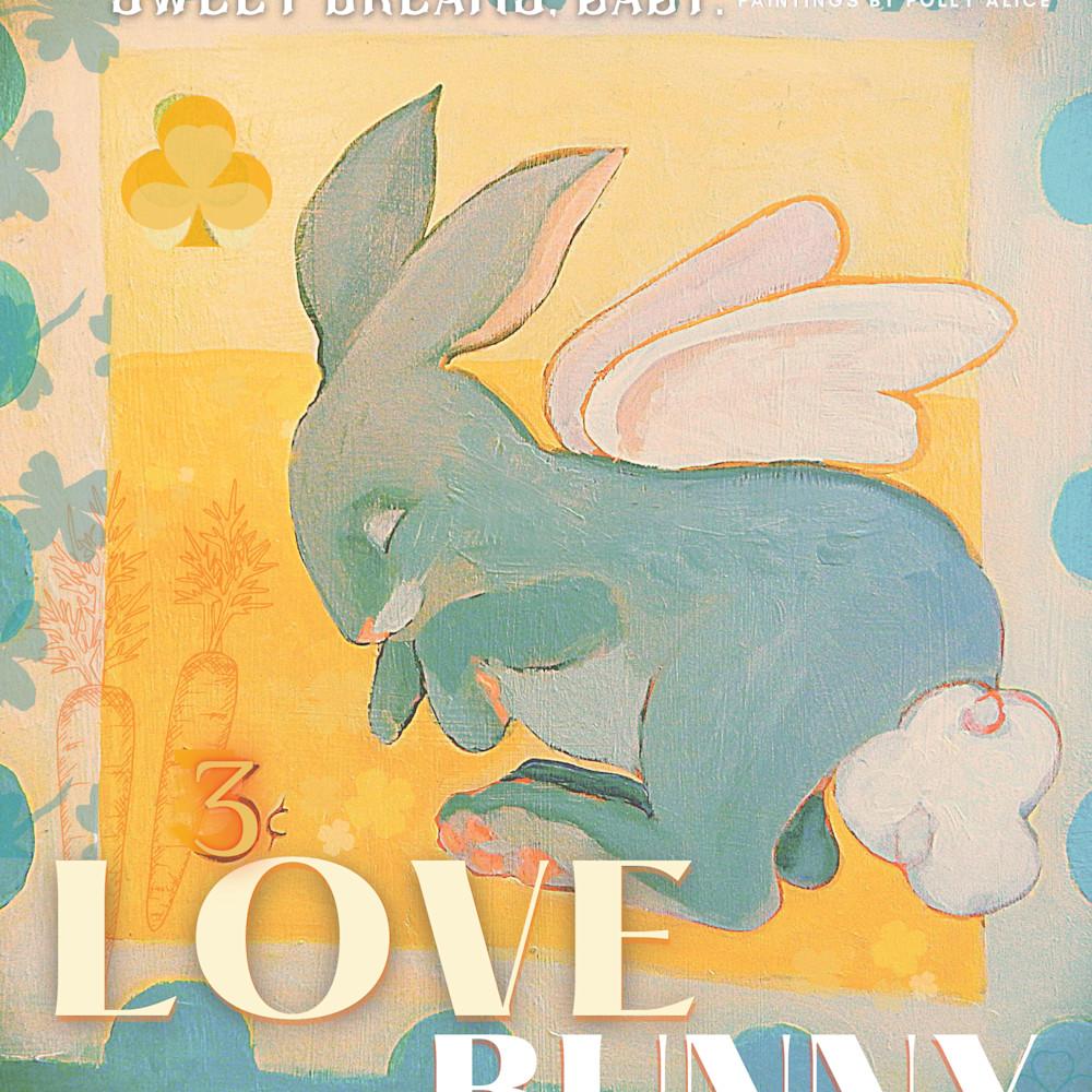 Love bunny poster x5eyo1